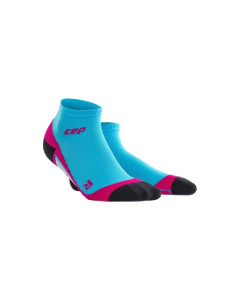 Low Cut Socks Hawaii Blue Pink Women